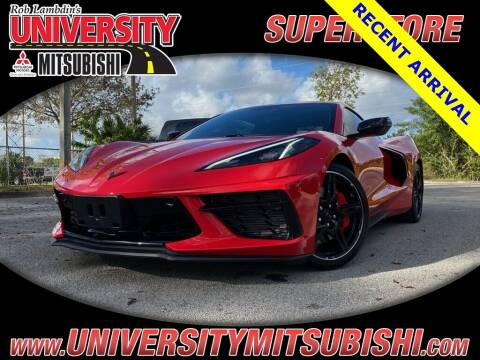 2020 Chevrolet Corvette for sale at FLORIDA DIESEL CENTER in Davie FL