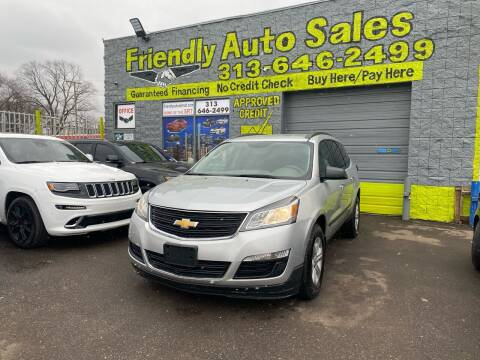 2016 Chevrolet Traverse for sale at Friendly Auto Sales in Detroit MI