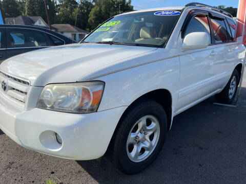2007 Toyota Highlander for sale at Cars for Less in Phenix City AL