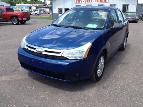 2008 Ford Focus for sale at Steves Auto Sales in Cambridge MN