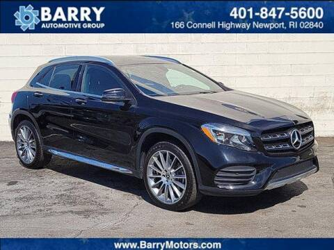 2018 Mercedes-Benz GLA for sale at BARRYS Auto Group Inc in Newport RI