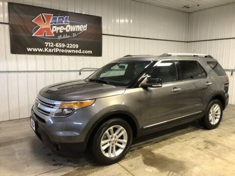 2014 Ford Explorer for sale at Karl Pre-Owned in Glidden IA