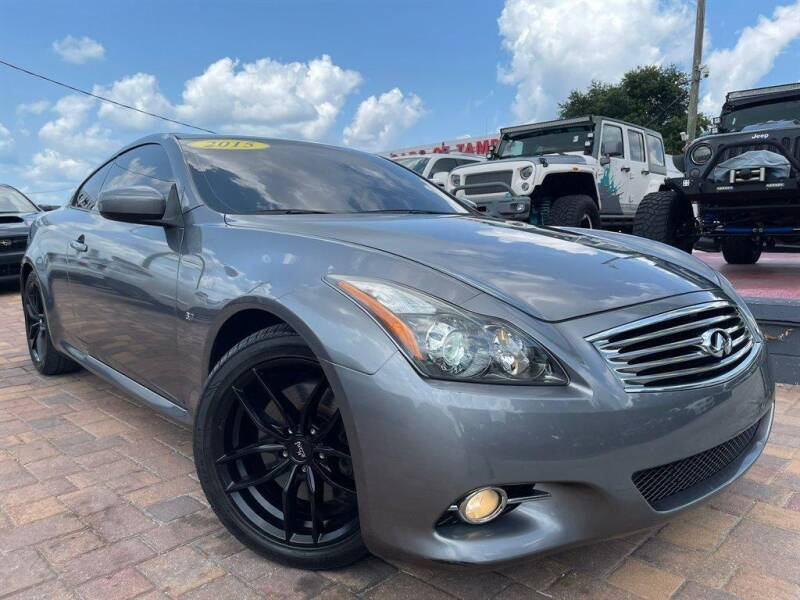 2015 Infiniti Q60 Coupe for sale in Tampa, FL