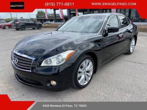 2011 Infiniti M37 for sale at SOUTHWEST AUTO GROUP-EL PASO in El Paso TX