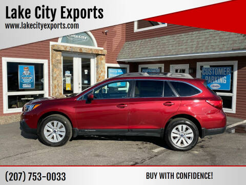 2016 Subaru Outback for sale at Lake City Exports in Auburn ME