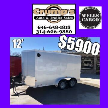 2021 Wells Cargo 12' Enclosed trailer