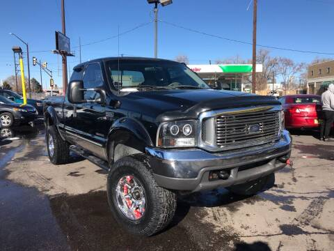 2000 Ford F-350 Super Duty for sale at New Wave Auto Brokers & Sales in Denver CO