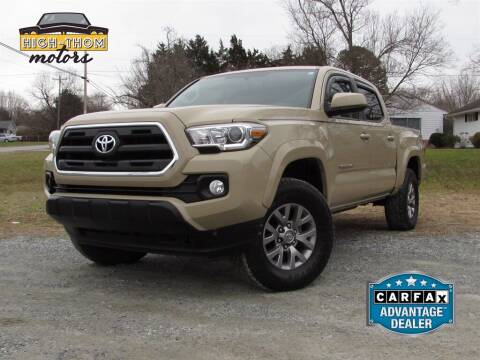 2017 Toyota Tacoma for sale at High-Thom Motors in Thomasville NC