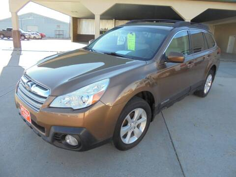2013 Subaru Outback for sale at KICK KARS in Scottsbluff NE