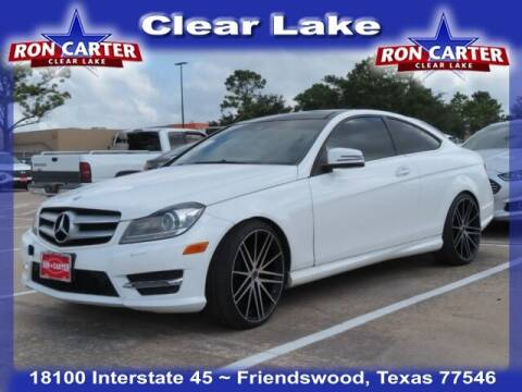 2013 Mercedes-Benz C-Class for sale at Ron Carter  Clear Lake Used Cars in Houston TX