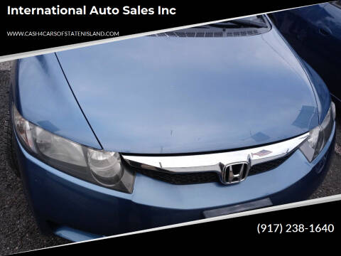 2010 Honda Civic for sale at International Auto Sales Inc in Staten Island NY