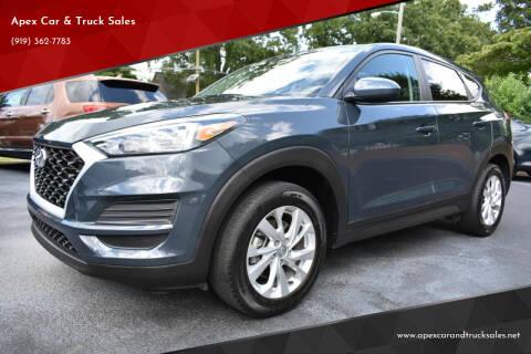 2019 Hyundai Tucson for sale at Apex Car & Truck Sales in Apex NC