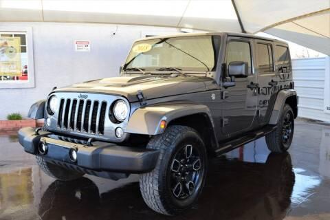 2018 Jeep Wrangler JK Unlimited for sale at 1st Class Motors in Phoenix AZ