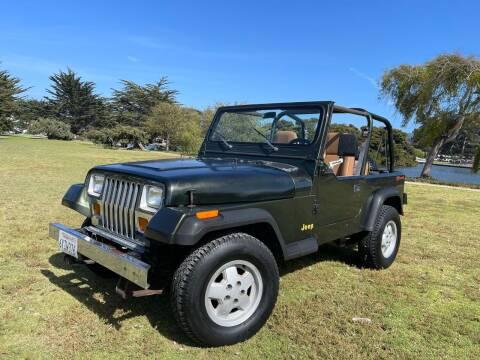 1995 Jeep Wrangler for sale at Dodi Auto Sales in Monterey CA