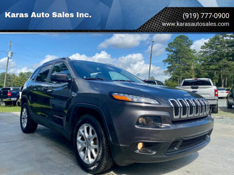 2016 Jeep Cherokee for sale at Karas Auto Sales Inc. in Sanford NC