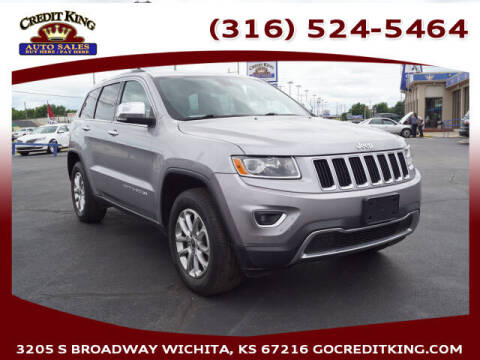 2014 Jeep Grand Cherokee for sale at Credit King Auto Sales in Wichita KS