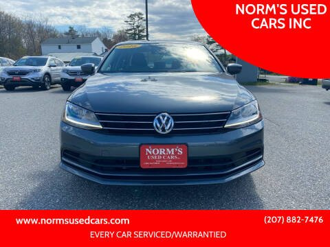 2018 Volkswagen Jetta for sale at NORM'S USED CARS INC in Wiscasset ME