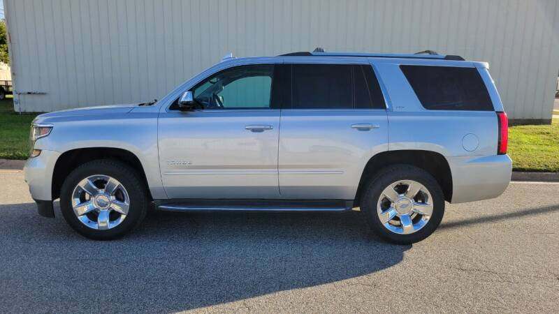 2015 Chevrolet Tahoe for sale at TNK Autos in Inman KS