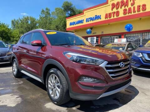 2017 Hyundai Tucson for sale at Popas Auto Sales in Detroit MI
