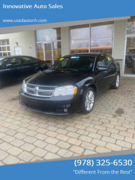 2012 Dodge Avenger for sale at Innovative Auto Sales in North Hampton NH