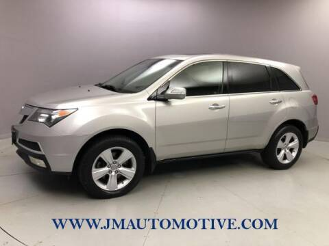 2011 Acura MDX for sale at J & M Automotive in Naugatuck CT