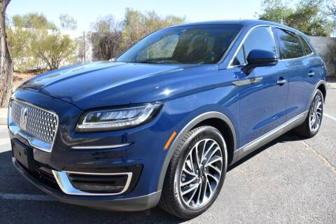 2019 Lincoln Nautilus for sale at AMERICAN LEASING & SALES in Tempe AZ