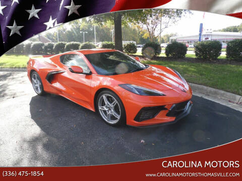 2020 Chevrolet Corvette for sale at CAROLINA MOTORS in Thomasville NC