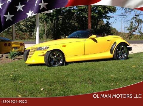 1999 Plymouth Prowler for sale at Ol Man Motors LLC in Louisville OH