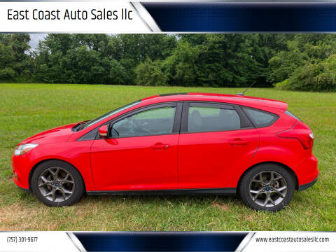 2013 Ford Focus for sale at East Coast Auto Sales llc in Virginia Beach VA
