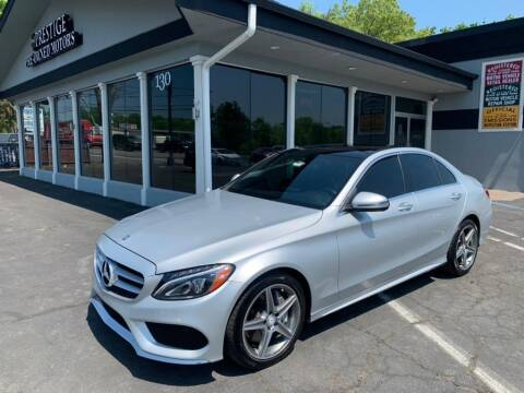 2016 Mercedes-Benz C-Class for sale at Prestige Pre - Owned Motors in New Windsor NY