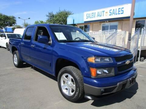 2012 Chevrolet Colorado for sale at Salem Auto Sales in Sacramento CA