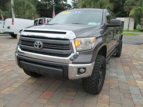 2014 Toyota Tundra for sale at Affordable Auto Motors in Jacksonville FL