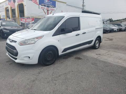 2014 Ford Transit Connect Cargo for sale at INTERNATIONAL AUTO BROKERS INC in Hollywood FL