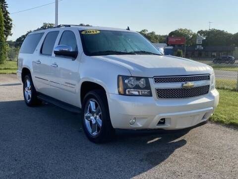2011 Chevrolet Suburban for sale at Betten Baker Preowned Center in Twin Lake MI