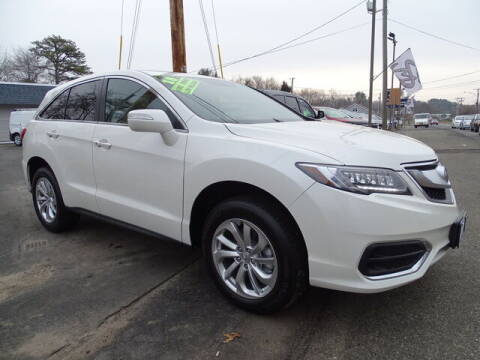 2018 Acura RDX for sale at Sandy Motors Inc in Coventry RI