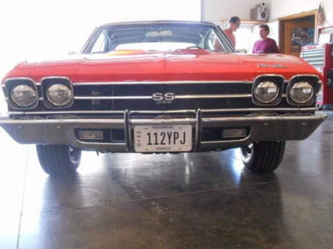 1969 Chevrolet Chevelle for sale at Hines Auto Sales in Marlette MI