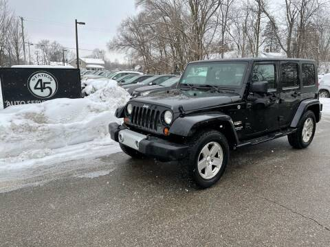 2009 Jeep Wrangler Unlimited for sale at Station 45 Auto Sales Inc in Allendale MI