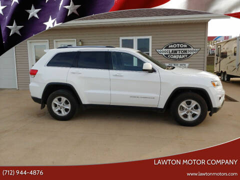 2014 Jeep Grand Cherokee for sale at Lawton Motor Company in Lawton IA