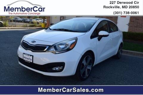 2012 Kia Rio for sale at MemberCar in Rockville MD