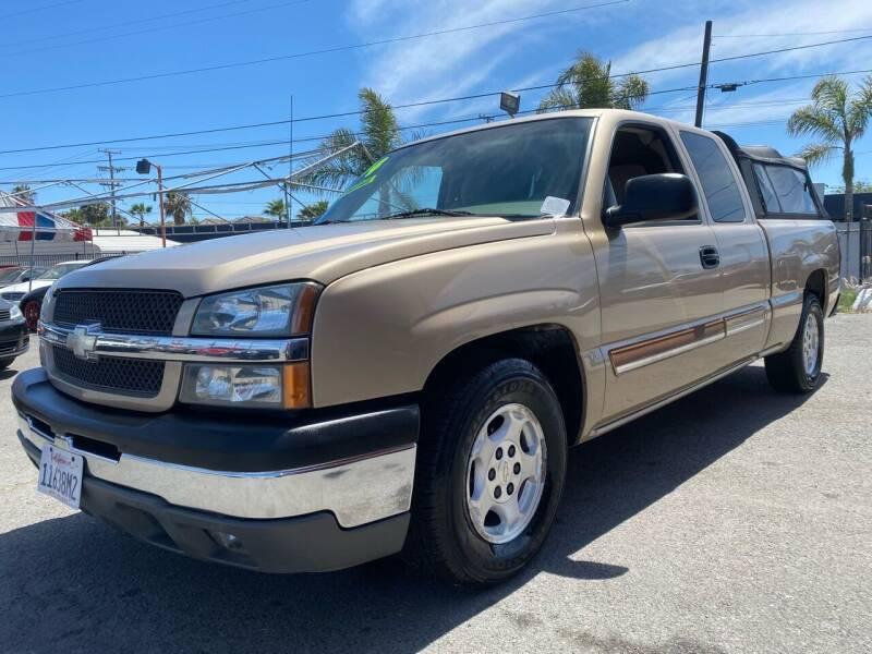 2004 Chevrolet Silverado 1500 for sale at North County Auto in Oceanside CA