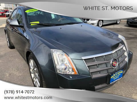 2009 Cadillac CTS for sale at White St. Motors in Haverhill MA