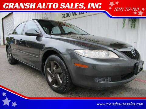 2004 Mazda MAZDA6 for sale at CRANSH AUTO SALES, INC in Arlington TX