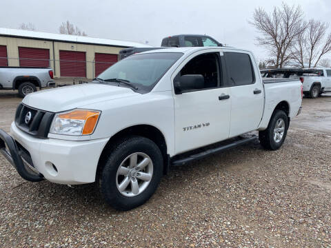 2012 Nissan Titan for sale at Truck Buyers in Magrath AB