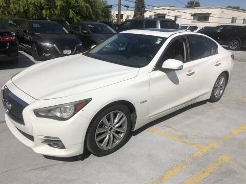 2014 Infiniti Q50 Hybrid for sale at Boktor Motors in North Hollywood CA