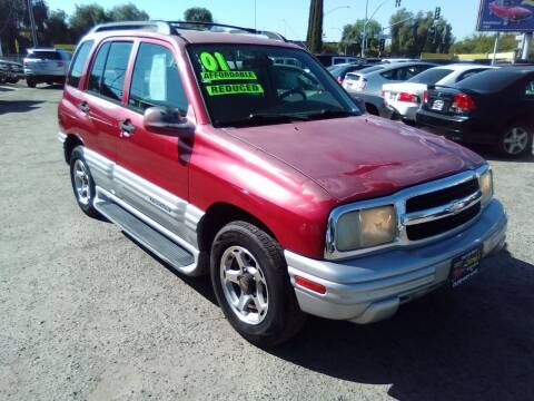 2001 Chevrolet Tracker for sale at Larry's Auto Sales Inc. in Fresno CA