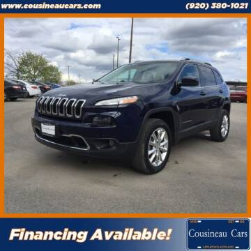 2014 Jeep Cherokee for sale at CousineauCars.com in Appleton WI
