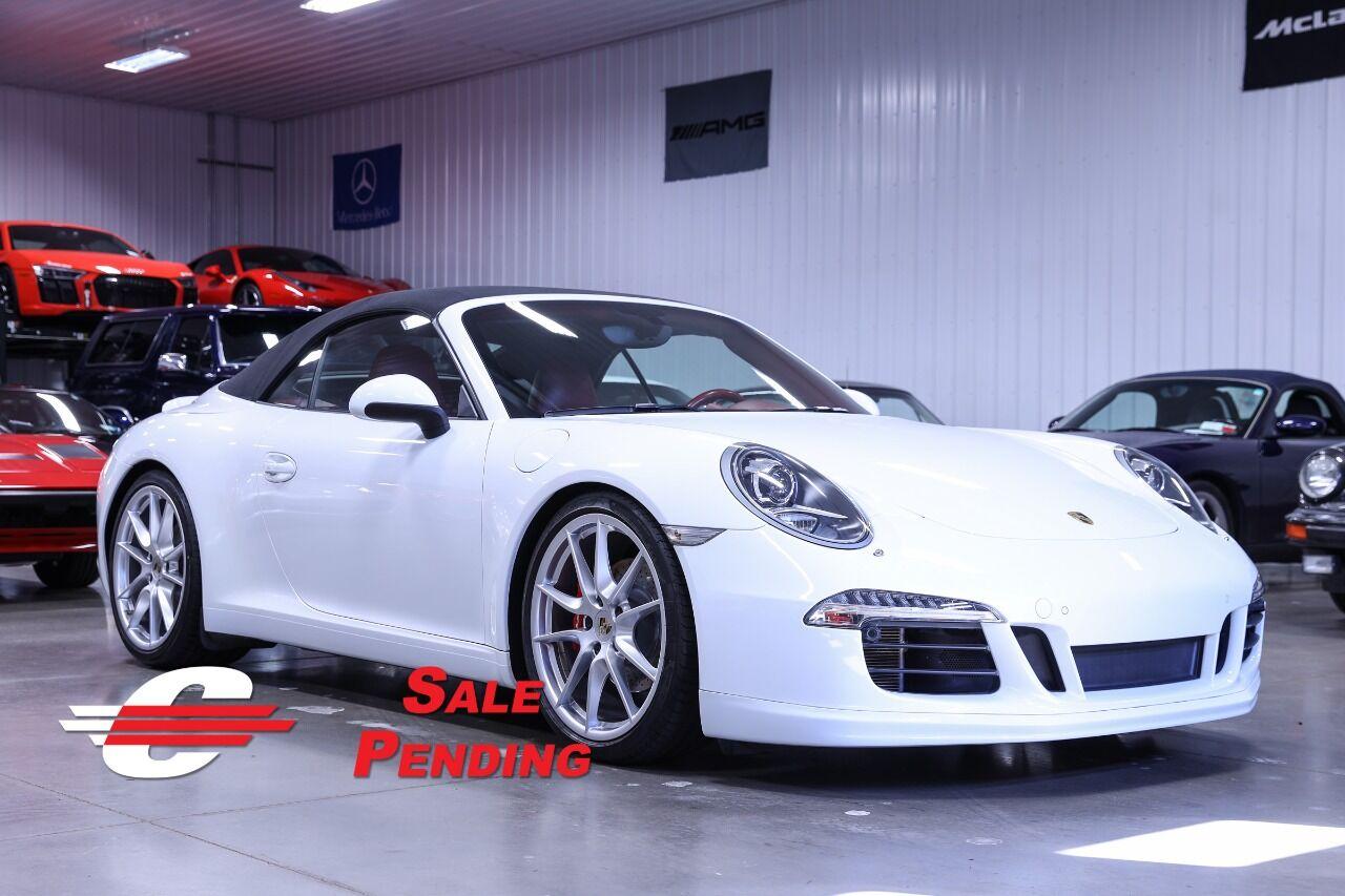 2013 Porsche 911 Carrera 2dr Convertible