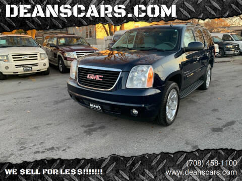2008 GMC Yukon for sale at DEANSCARS.COM in Bridgeview IL