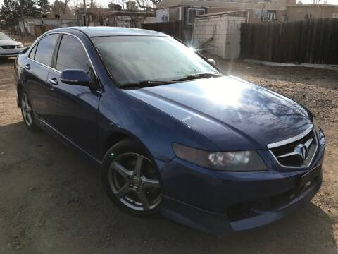 2004 Acura TSX for sale at 3-B Auto Sales in Aurora CO