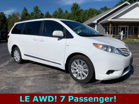 2017 Toyota Sienna for sale at Drivers Choice Auto & Truck in Fife Lake MI